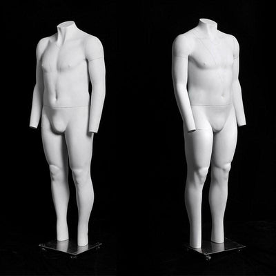 Plus Size Male Invisible Ghost Mannequin Full Body for Photography MM-MZGH9 4