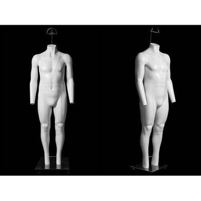 Mannequin Mall Plus Size Male Invisible Ghost Mannequin Full Body (Ver 2.0) for Photography MM-GH25 For Fashion Stores and Retail Shops