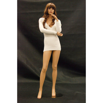 Mannequin Mall Realistic Female Mannequin MM-FR10 For Fashion Stores and Retail Shops