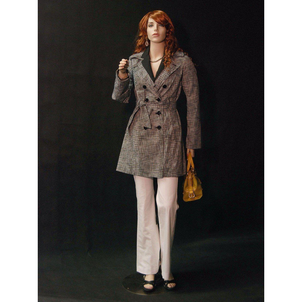 Mannequin Mall Realistic Female Mannequin with Bendable Arms MM-192 For Fashion Stores and Retail Shops