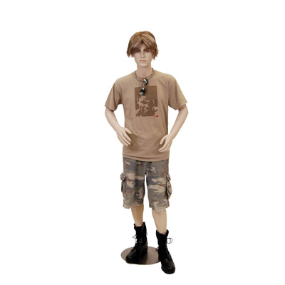 Mannequin Mall Short Male Realistic Mannequin MM-STEVE For Fashion Stores and Retail Shops