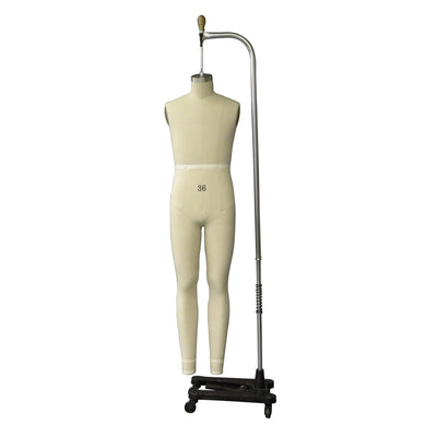 Mannequin Mall Size 36 Male Full Body Professional Dress Form For Fashion Stores and Retail Shops