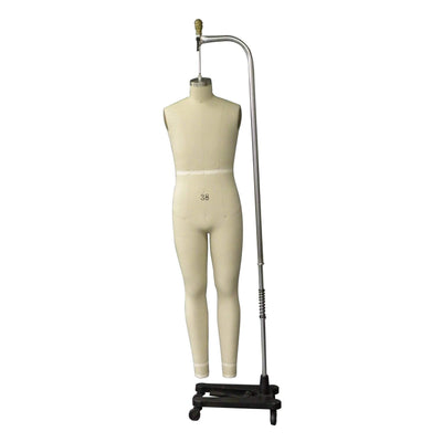 Mannequin Mall Size 38 Male Full Body Professional Dress Form For Fashion Stores and Retail Shops