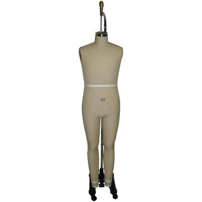 Mannequin Mall Size 40 Male Full Body Professional Dress Form For Fashion Stores and Retail Shops