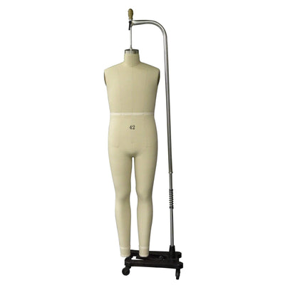 Mannequin Mall Size 42 Male Full Body Professional Dress Form For Fashion Stores and Retail Shops