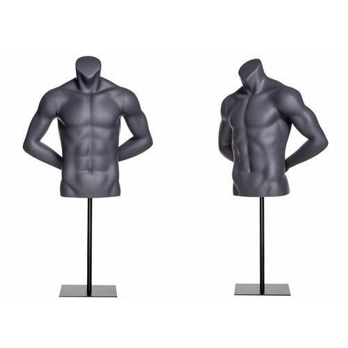 Mannequin Mall Sports Athletic Male Mannequin Torso MM-NI7 For Fashion Stores and Retail Shops