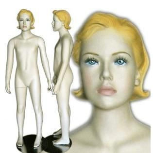 Mannequin Mall Teenage Girl Mannequin MM-343 For Fashion Stores and Retail Shops