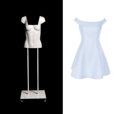 Mannequin Mall Ultimate Female Invisible Ghost Mannequin Full Body Version 3.0 MM-GHT-F For Fashion Stores and Retail Shops