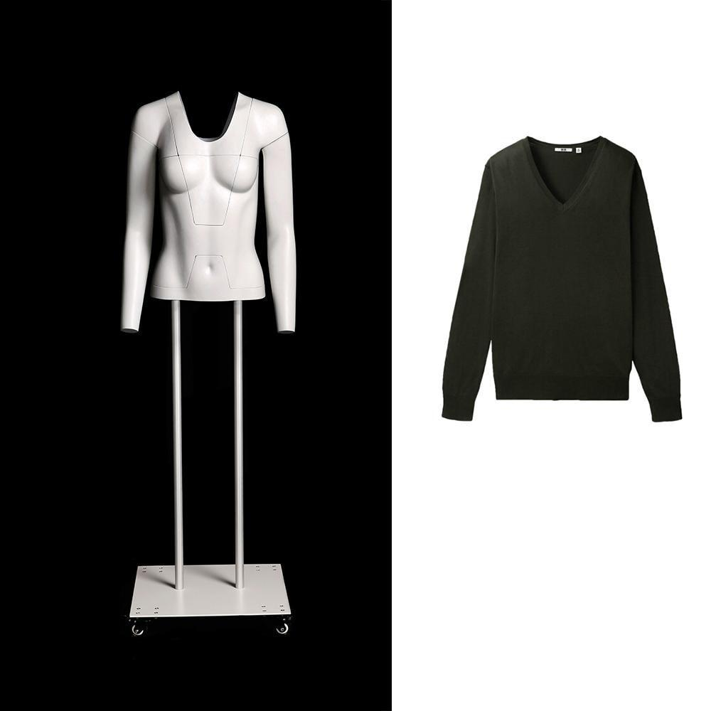 Newtech Display MAM-GHOSFULL//WHT Full Body Ghost//Invisible Mannequin