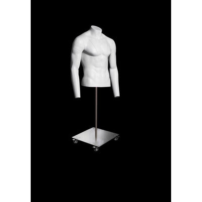 Mannequin Mall Ultimate Invisible Ghost Male Mannequin Torso MM-GH1-2M For Fashion Stores and Retail Shops