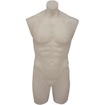 Mannequin Mall Without Base Male Mannequin Torso MM-P908W For Fashion Stores and Retail Shops