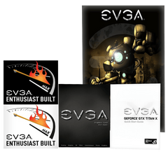 EVGA GeForce GTX Titan X Hybrid 12 GB GDDR5 Air Water Hybrid Graphics Card 12G P4 1999 KR