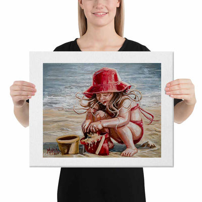 M18087 Girl in Red