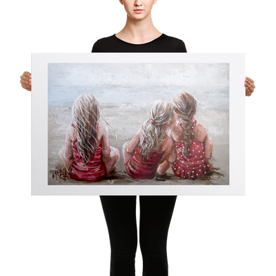 A Trio 2 - 24 x 36 Canvas Print