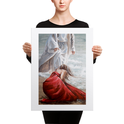 Jesus My Savior 18 X 24 Canvas Print House Of Maria