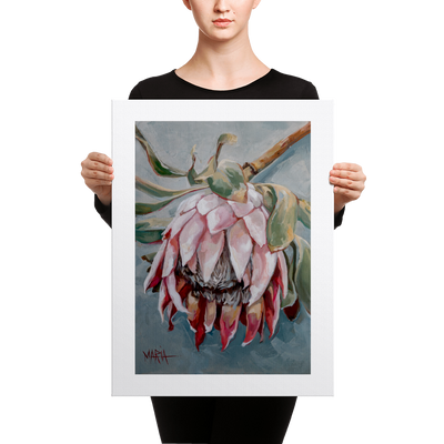 Pale Pink Beauty - 18 x 24 Canvas Print