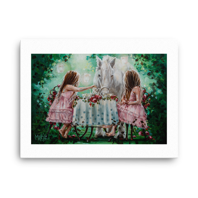 Tea Time - 18 x 24 Canvas Print