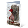 At The Door - Greeting Card