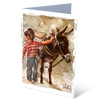 Saddled up - Greeting Card