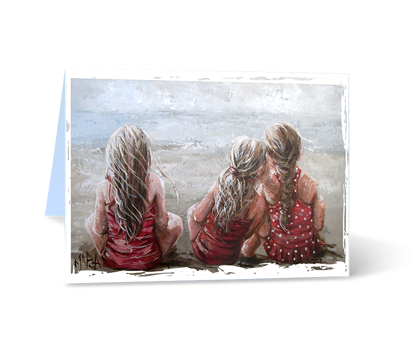 A Trio 2 - Greeting Card