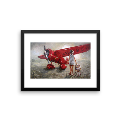 Red Thunder - 16 x 12 Paper Print