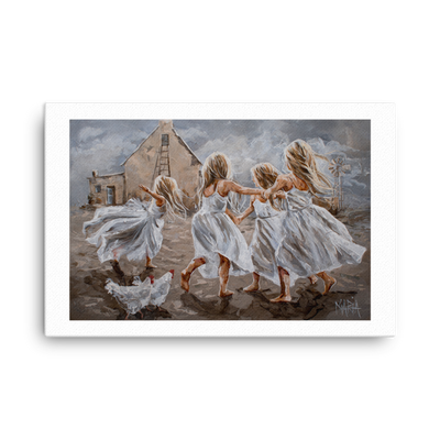 Dance with Joy - 24 x 36 Canvas Print