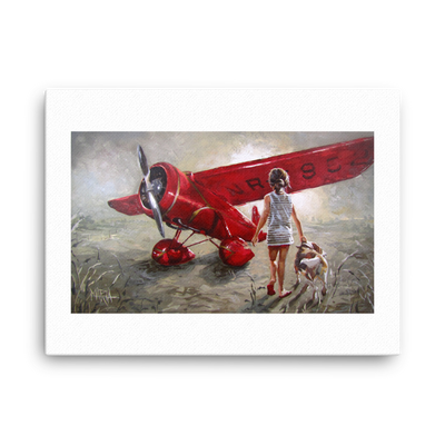 Red Thunder - 18 x 24 Canvas Print