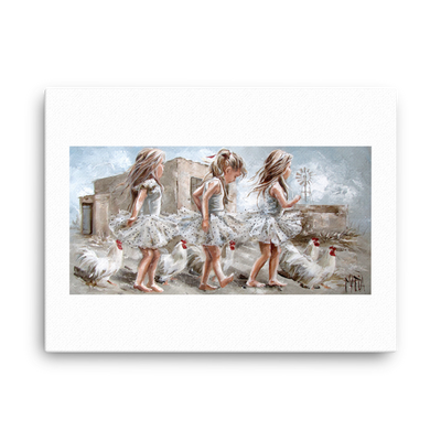 Trio 1 - 18 x 24 Canvas Print