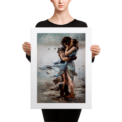 Warrior Lover - 18 x 24 Canvas Print