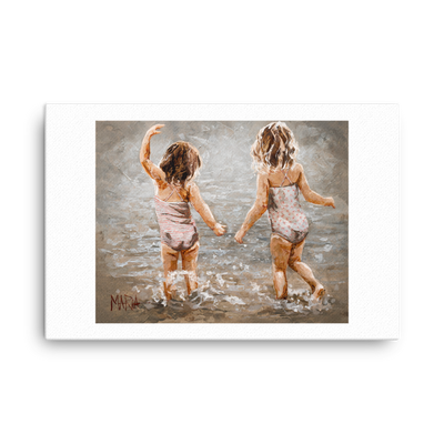 Never Alone - 24 x 36 Canvas Print