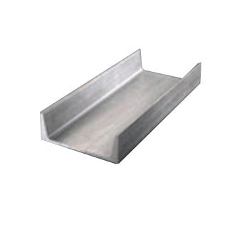 "4"" x 1.720"" x  .320"" Aluminum Channel"