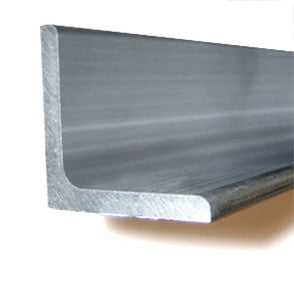 "6"" x 4"" Aluminum Angle 6061 - Thickness 1/2"