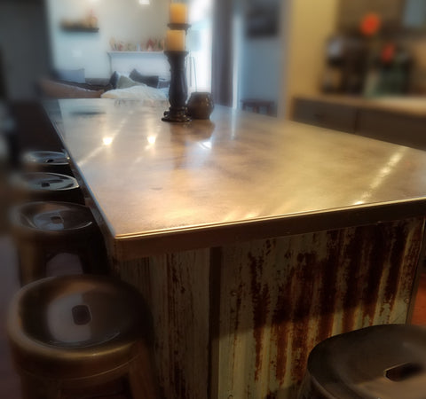 Custom-made Stainless Steel Counter Top