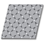Stainless Steel Diamond Floor Plate 3/16""
