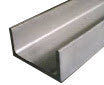 "Stainless Steel Channel  Width 4"" x  Leg 1-3/4"" x 1/4"" Thickness"