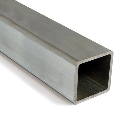 "Stainless Steel 304 Square Tube 1-1/4"" x 1-1/4"" x 14Ga"