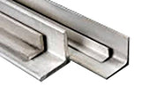 "Stainless Steel 304 Angle 3-1/2"" x 3-1/2"" x Thickness 1/4"""