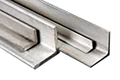 "Stainless Steel 304 Angle 1-1/4"" x 1-1/4"" x Thickness 1/4"