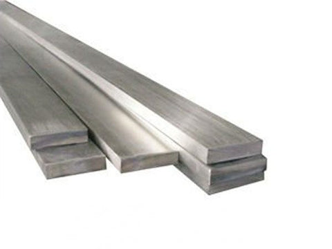 "Stainless Steel Flat Bar 8"" x 3/8"""
