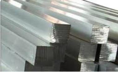 Stainless Steel 304 Solid Square 5/8""