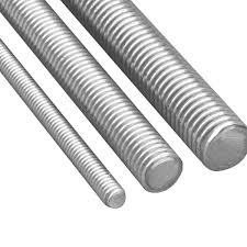 "Threaded Rounds Grade 2   1.24""RD - 8 Threads/per inch"