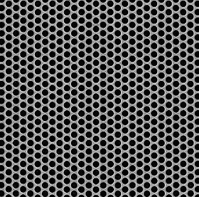 Perforated Metal Stainless Steel 18 GA