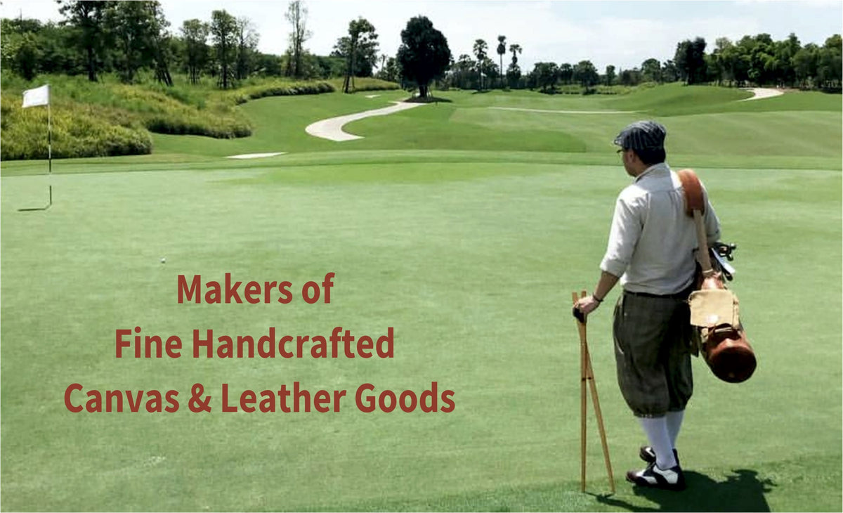 Steurer & Jacoby® Custom Canvas & Leather Golf Bags