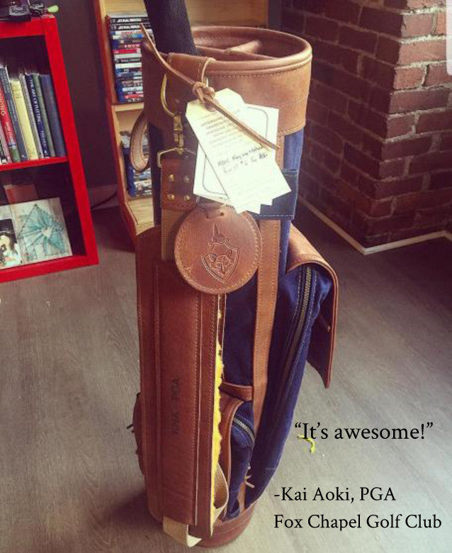 Steurer & Jacoby® Airliner Golf Bag Kai Aoki Fox Chapel Golf Club