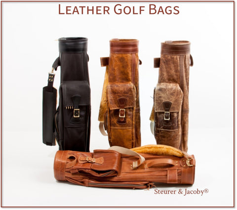 Steurer & Jacoby® Custom Crafted Leather Golf Bags