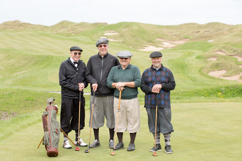 Steurer & Jacoby® cusom made leather golf bags put to use by these golfers