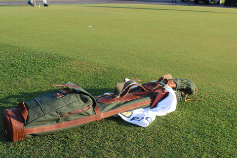 Steurer & Jacoby Golf Bag on Putting Green