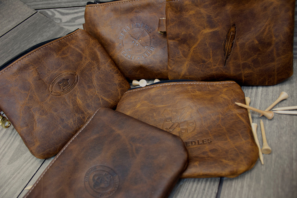 Leather Valuables Pouches
