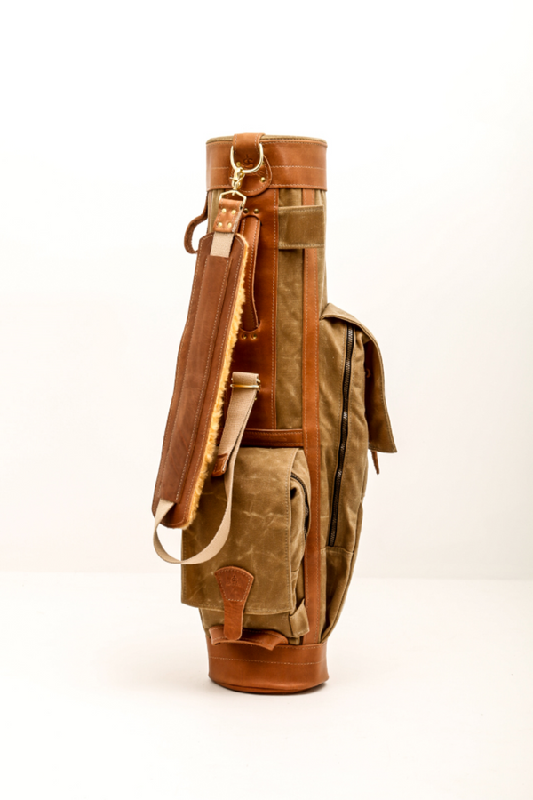 Leather And Waxed Canvas Golf Bags Steurer Amp Jacoby