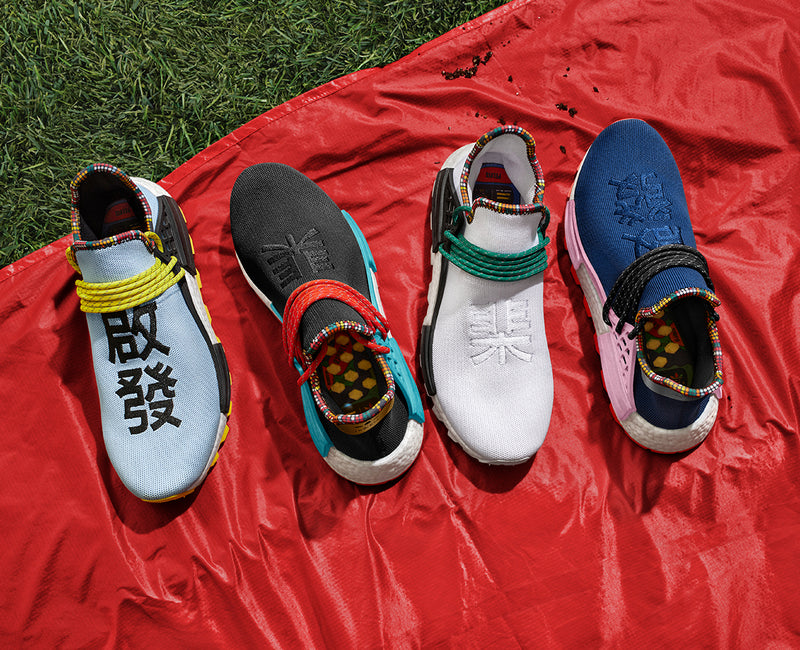 adidas Originals = PHARRELL WILLIAMS SOLARHU Capsule Collection